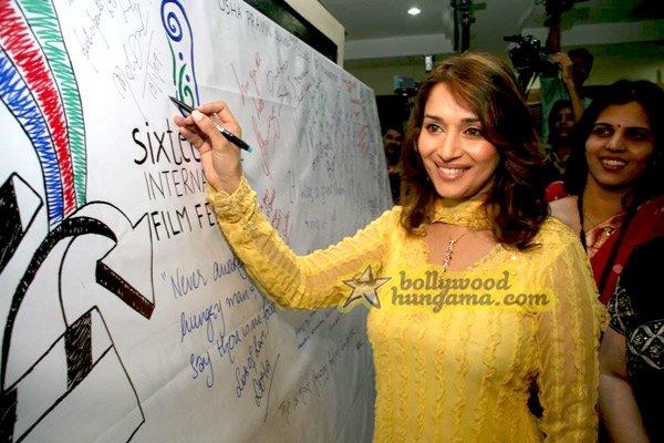 still9 - Madhuri Dixit nd Imran Khan @ college film fe