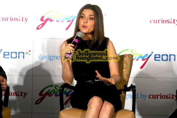 still5 - Preity Zinta unveils Godrej Eon A/Cs