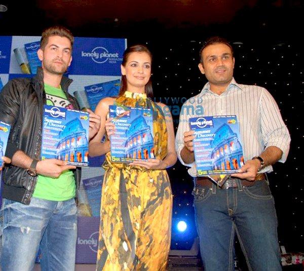 Neil Nitin Mukesh, Dia Mirza, Virender Sehwag
