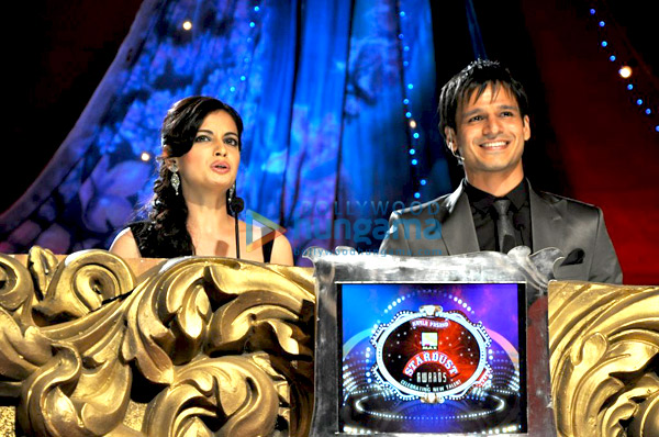 Dia Mirza, Vivek Oberoi at Max Stardust Awards 2010