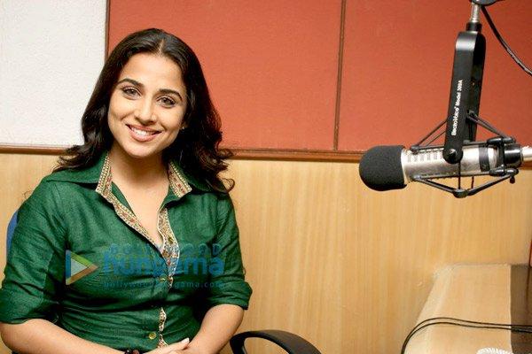 still1 Vidya and Rani promote No One Killed Jessica at Radio City