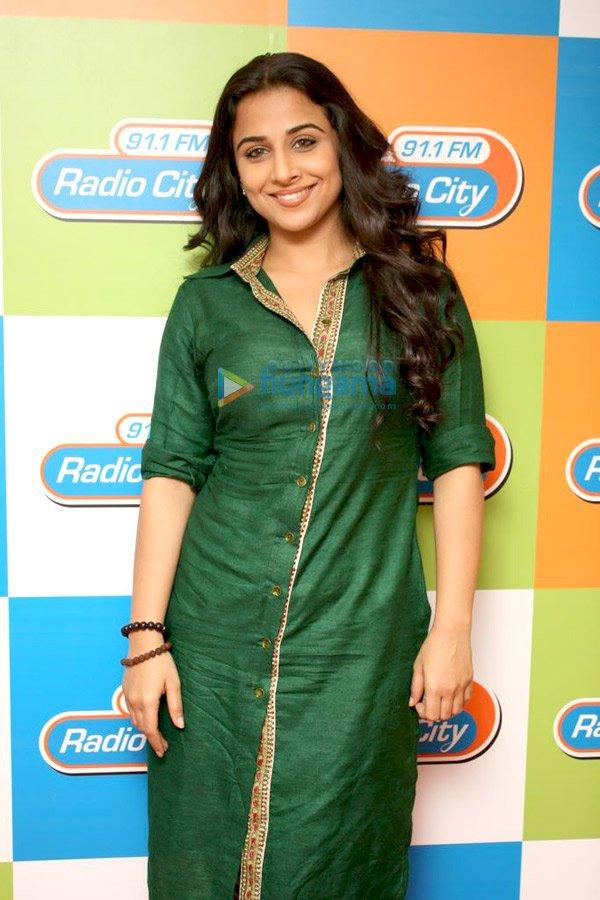 still3 Vidya and Rani promote No One Killed Jessica at Radio City