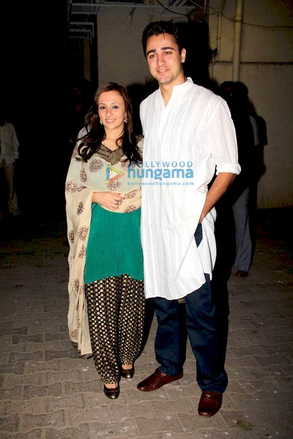 still3 Aamir and Kiran at Imran Avantika Mehndi ceremony bollywood gallery