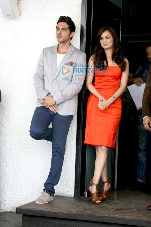 Zayed Khan and Dia Mirza