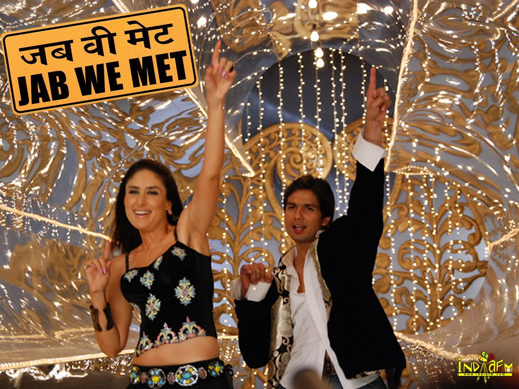 Bollywood SHAHiD   Jab We Met Movie Poster