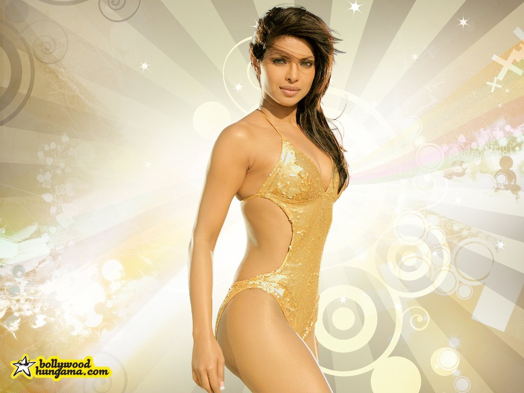 sexy  Priyanka Chopra Wallpaper Bollywood Hindi Movies