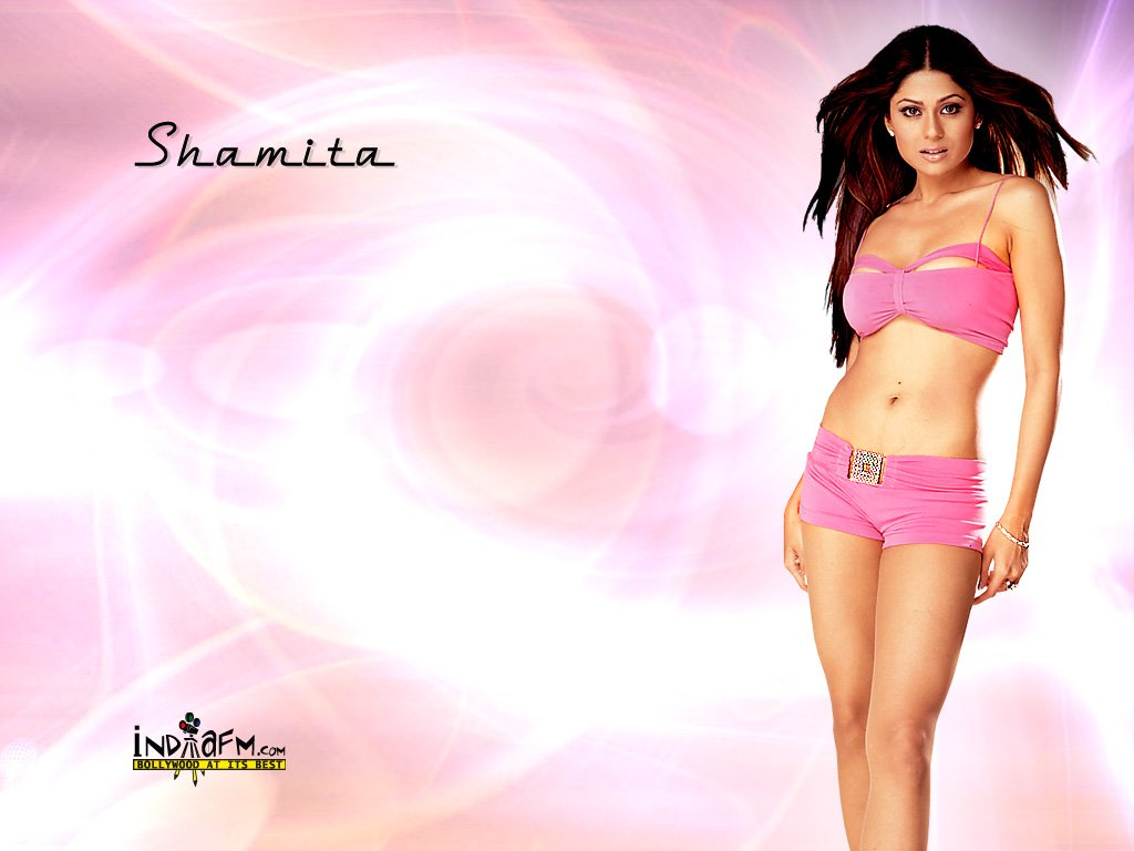 shamita shetty hq wallpapers - lazydesis